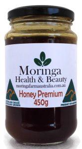 Moringa Farm Australia Premium Moringa Honey 450G