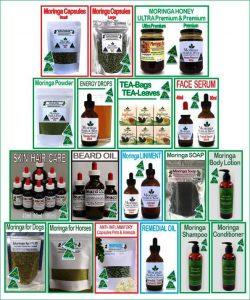 Moringa Farm Australia Products 2011-2019