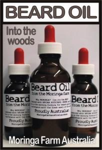 "Moringa Beard Oil - ""Into the woods"""