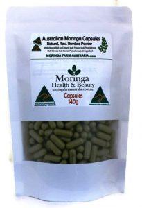 Australian Moringa capsules 140
