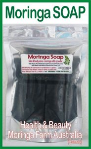 Australian Moringa soap x 3